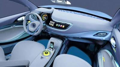2009 Renault Fluence Z.E. Concept - Dashboard View